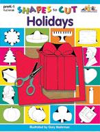 Shapes to Cut: Holidays (Enhanced eBook)