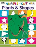 Shapes to Cut: Plants & Shapes (Enhanced eBook)
