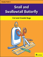 Snail and Swallowtail Butterfly