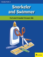 Snorkeler and Swimmer