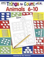 Things to Count: Animals 6-10 (Enhanced eBook)