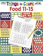 Things to Count: Food 11-15 (Enhanced eBook)