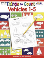 Things to Count: Vehicles 1-5 (Enhanced eBook)