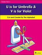 U is for Umbrella & V is for Violet