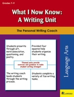 What I Now Know: A Writing Unit