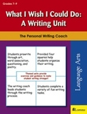 What I Wish I Could Do: A Writing Unit