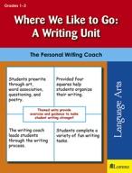 Where We Like to Go: A Writing Unit