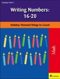 Writing Numbers: 16-20