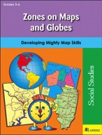 Zones on Maps and Globes