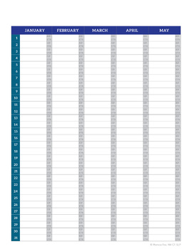 ETR & IEP Schedule at a glance