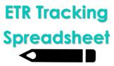 ETR Tracking Spreadsheeet