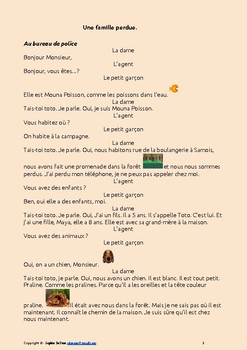 FREE- French verbs ÊTRE and AVOIR - a poem and a dialogue