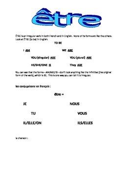ETRE : introductory handout
