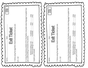 EUREKA MATH 2nd Grade Module 4 Lesson 10 Slideshow Supplemental Materials