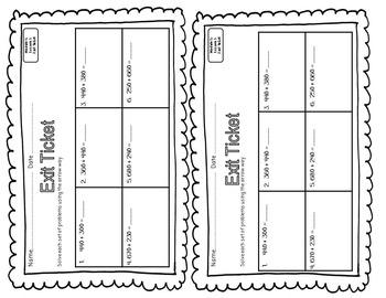 EUREKA MATH 2nd Grade Module 5 Lesson 3 Slideshow Supplemental Materials 2015