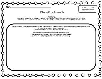 EUREKA MATH 2nd Grade Module 6 Lesson 17 Slideshow Supplemental Materials 2015