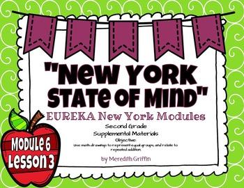 EUREKA MATH 2nd Grade Module 6 Lesson 3  PowerPoint Slideshow