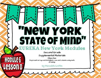 EUREKA MATH 2nd Grade Module 6 Lesson 8 Slideshow Supplemental Materials 2015