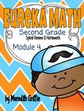 EUREKA MATH 2nd Grade Spiral Review Homework Sheets Module 4 1, 2, & 3