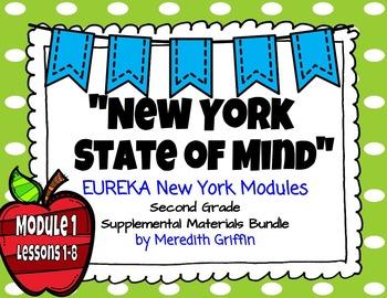 UPDATED! EUREKA MATH 2nd Grade Module 1 Lessons 1-8 Slideshow BUNDLE 2015