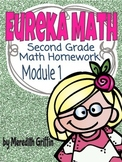 EUREKA MATH NY Homework Module 1  OA.1 OA.2 NBT.5 2nd Grade Common Core