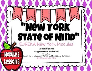 EUREKA MATH 2nd Grade Module 3 Lesson 8 Slideshow Supplemental Materials