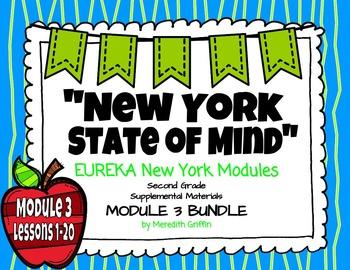EUREKA MATH 2nd Grade Module 3 Lessons 1-20 COMPLETE BUNDLE  Common Core