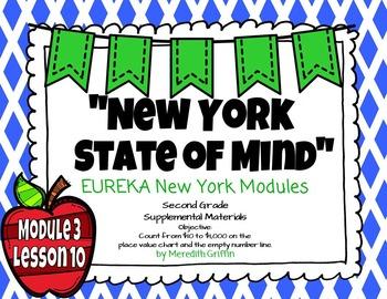 EUREKA MATH 2nd Grade Module 3 Lesson 10   Place Value 2015