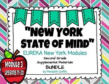 EUREKA MATH 2nd Grade Module 3 Lessons 11-20 BUNDLE  Place Value