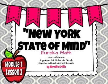 UPDATED! EUREKA MATH  2nd grade NY ENGAGE Module 1 Lesson 3 Slideshow 2015