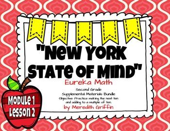 UPDATED! EUREKA MATH 2nd grade NY ENGAGE Module 1 Lesson 2 Slideshow 2015