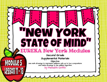 EUREKA Math ENGAGE 2nd Grade Slideshows Module 5 Lessons 11-18  FREEBIE EDITABLE
