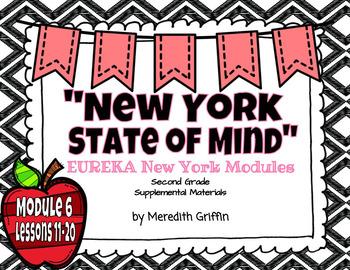 EUREKA Math ENGAGE 2nd Grade Slideshows Module 6 Lessons 11-20  EDITABLE