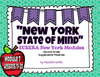 EUREKA Math ENGAGE 2nd Grade Slideshows Module 7 Lessons 11-20  EDITABLE