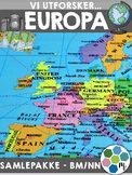 EUROPA - Samlepakke [Utforskingsopplegg] [BM&NN]
