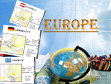 Europe Countries Maps Cards Italy France Germany Greece Ru