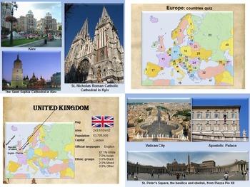 Europe - Spain - Portugal - Malta - Vatican City - Poland - Russia - PowerPoint