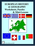 EUROPE HISTORY and GEOGRAPHY