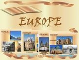 Europe - Cities in Europe - Countries - Maps - Spain - Ita