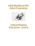 EV3  Critical Thinking Robot Task Cards Set A & Teacher Re