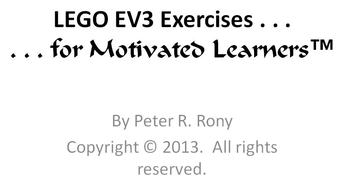 EV3 LEGO Robot Systems - Exercises