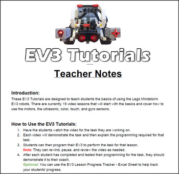 Mindstorms ev3 tutorial #1: getting your robot to move youtube.