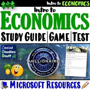 EVALUATE- Introduction to Economics End Of Unit Materials