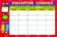 EVALUATION SCHEDULE