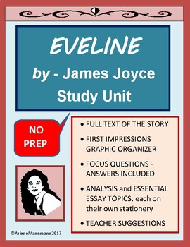 EVELINE by James Joyce - Study Unit and Full Text