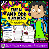 Even and Odd Numbers Activities and Worksheets (Odd and Ev