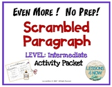EVEN MORE!  No Prep!  Nuts and Bolts Scrambled Paragraphs
