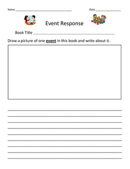 EVENT Response Recording Sheet