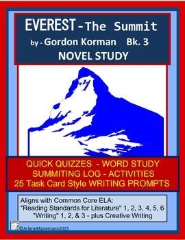 EVEREST The Summit, Book 3 Novel Study