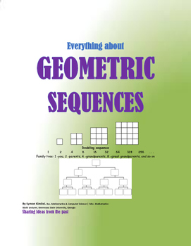 THE GEOMETRIC SEQUENCES